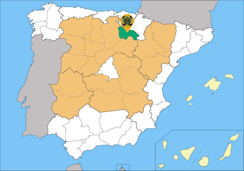 Mapa Sedes de VASE